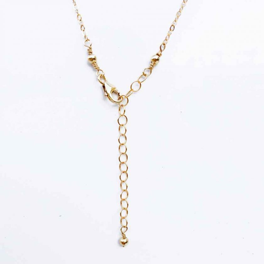 3mm Gold Filled Bead Choker