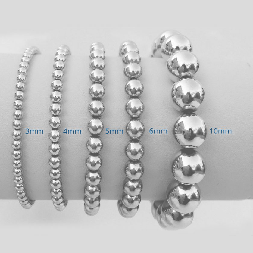 Silver Sterling 4mm