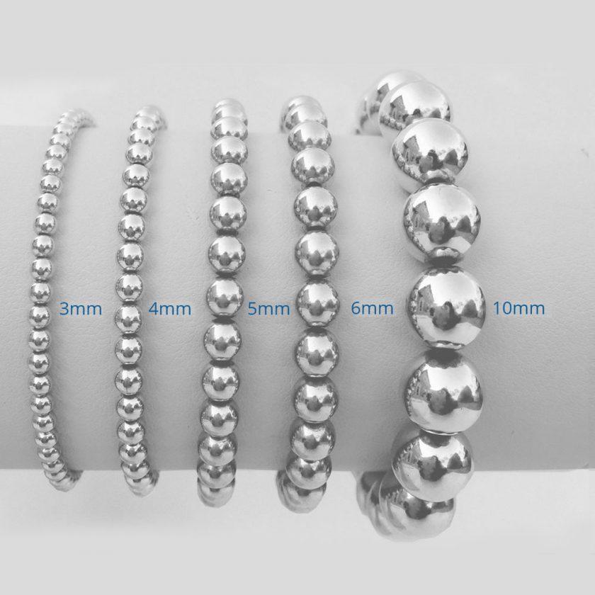 Silver Sterling 5mm