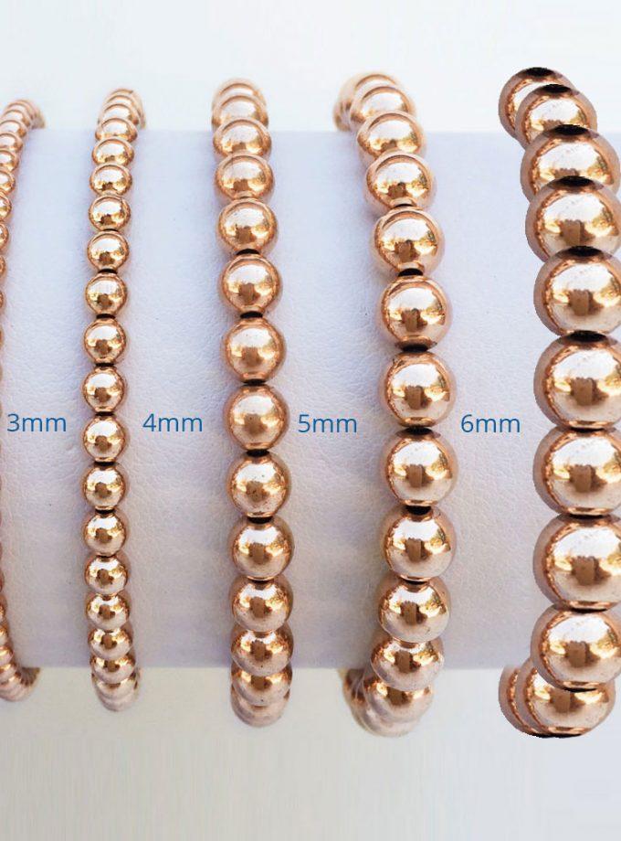 Rose Gold Filled 5mm